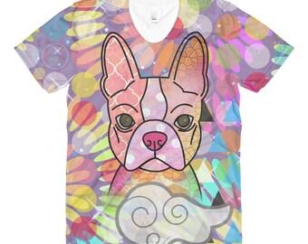 Boston Terrier Shirt, Bostie Shirt, Dog Mom Shirt, Dog Shirt, Boston Shirt, I Love My Boston Shirt, Love My Dog, Ladies Shirt, Womens Shirt