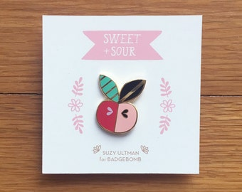 SWEET & SOUR - enamel pin