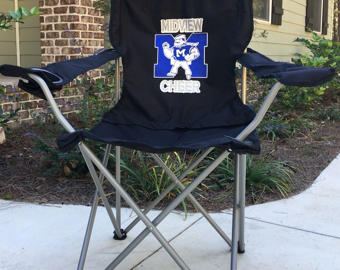 Personalized Chair, Coaches Gift, Custom Folding Camp Chair, RV chair, Tailgating Chair, Sports Team Chair, Personalized Chairs