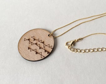 "Long Necklace ""Garland"" 