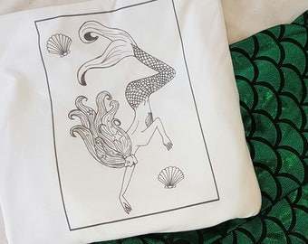 Mermaid Sketch Tee