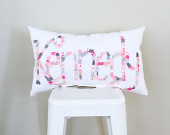 Name Pillow, Personalized Pillow