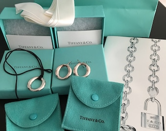 Tiffany and Company Sterling Silver Set