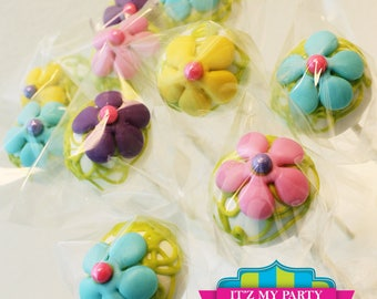 Flower Power Cake Pops  (1 Dozen)