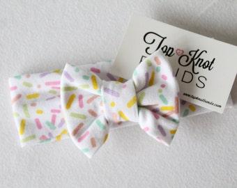 Birthday Sprinkle Bow headband