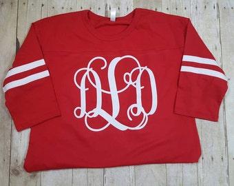 Spirit Shirt / Rally Jersey / Monogram shirt/ Jersey