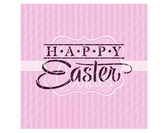 "Happy Easter 5.5 x 5.5"" Stencil"