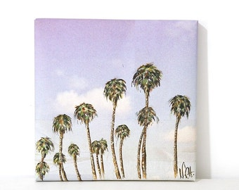 Tableau 'California Dream' toile coton