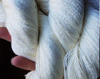Lace weight, Merino and Silk, Dyed to Order