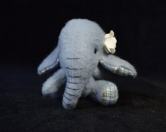 Artist Bear   Elephant   OOAK   Blossom