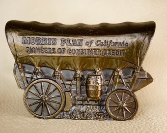 Metal Coin Bank - Conestoga Wagon