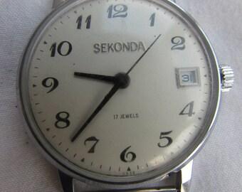 Vintage Watches Raketa SEKONDA USSR