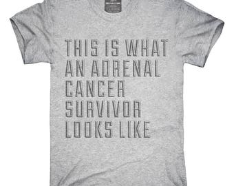This Is What A Adrenal Cancer Survivor Looks Like T-Shirt, Hoodie, Tank Top, Gifts