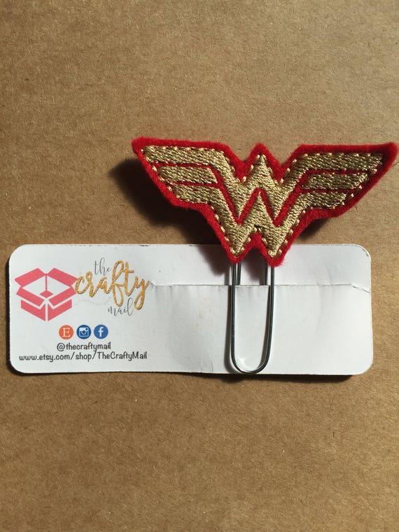 Wonder Girl Symbol Planner Clip/Bookmark.