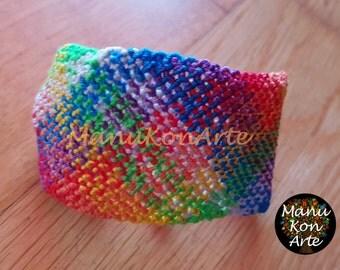 Model MACRAME bracelet 2 mosaic / Macrame Bracelet Boho Style