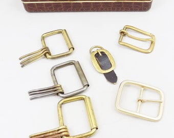 Belt Buckles, Brass and Brass Finish, Project Supply Belt Buckles, Buckles with Prongs