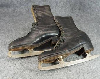 Vintage Aflred's Arch Grip Skating Shoe Black Size 10