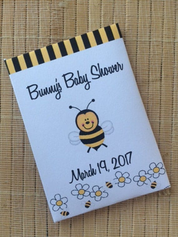 Bee Baby Shower, Bumble bee baby shower favors, bee shower favors, honey bee favors, baby boy favors, bee shower decor, bee favors