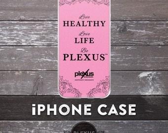 Elegant Pink Plexus iPhone Case