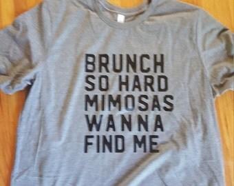 Brunch So Hard T-Shirt