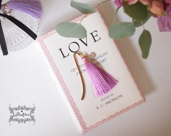 Heart Gold Bookmark