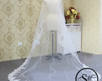 Bridal Wedding Accessories Lace Veil