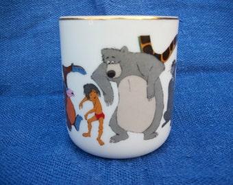 Jungle Book Disney Porcelain Mug Vintage Disney Mug Japan