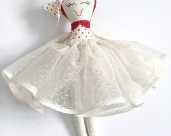 My Little Valentine Handmade Doll