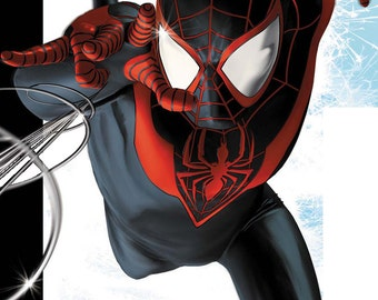The Marvel Miles Morales Spider Girl 3D Printing Costume