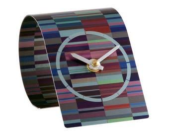 T2 Tessellate Purple Clock