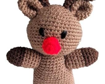Rudolph the Reindeer - Crochet Pattern (PDF)