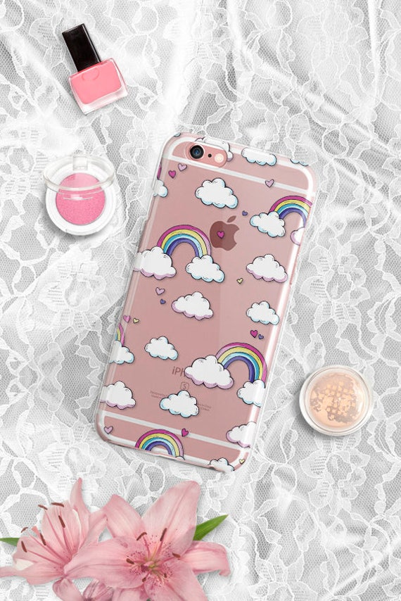 iPhone 7 Case Cloud and Rainbow iPhone 7 Plus Case Clear iPhone 6s Plus Case Clear iPhone 6 Case Clear iPhone 6s Case iPhone 6 Plus Case