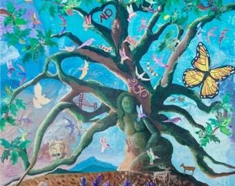 Summer of Serenity singing Tree