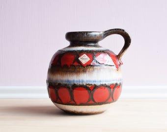 Scheurich ball vase | Space age | 70s | Model 484