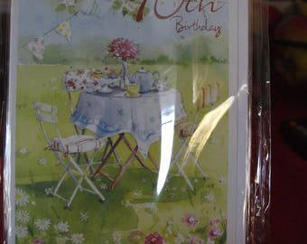 Afternoon Tea Congratulations on your 90th Birthday Card