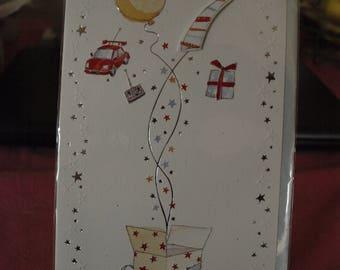 Boys 7 Today!  Birthday Card