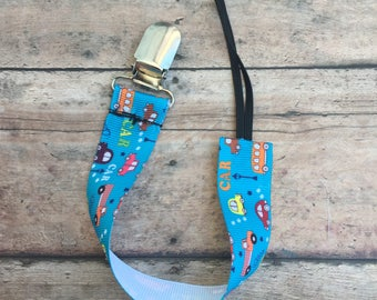 Car Pacifier Holder - Car Pacifier Clip - Binky Clip - Baby Shower Gift - Car Paci Clip - Pacifier Holder - Ribbon Clip - Soother Holder