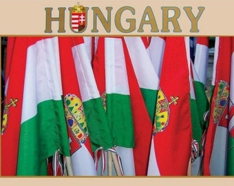 2017 Beautiful Large Scenic Wall Calendar of HUNGARY - Beautiful Hungarian Photos