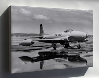 Canvas 24x36; Lockheed P-80 Shooting Star P10