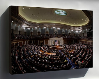 Canvas 24x36; 2011 State Of The Union Fisheye