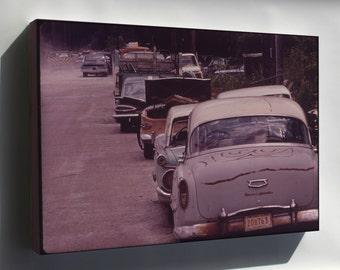 Canvas 24x36; Abandoned Automobiles Nara 546177