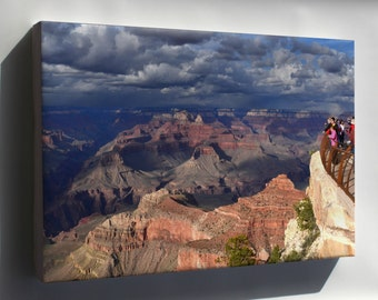 Canvas 16x24; Grand Canyon, Mather Point