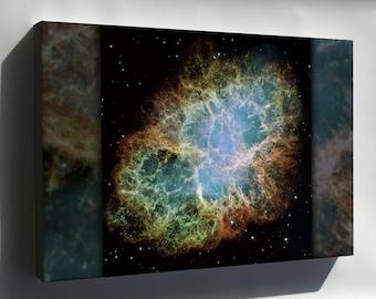 Canvas 16x24; Crab Nebula  Hst