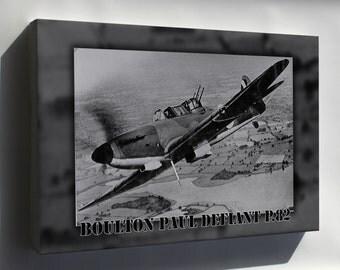 Canvas 16x24; Boulton Paul Defiant P.82