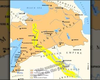 16x24 Poster; Armenian Empire And Lesser Armenia