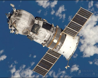 16x24 Poster; Progress Spacecraft Russian