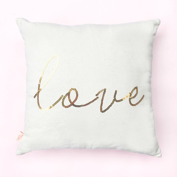 Decorative Love Pillow : Love Pillow Throw Pillows Decorative Pillow Couch Pillow