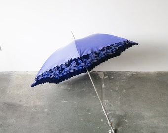 Original 50s screen, stick umbrella, umbrella, umbrella, Rockabella, mid century accessories