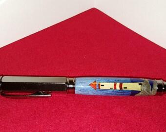 Lighthouse Inlay Vertex Pen