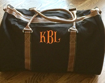 Personalized Mens Duffle Bag - Monogrammed Duffle Bag - Monogrammed Duffle Bag - Personalized Duffle Bag